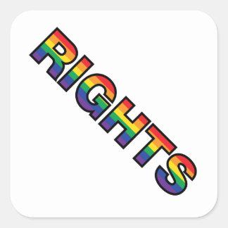 RIGHTS SQUARE STICKER