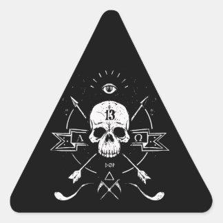 Rigor Mortis Triangle Sticker