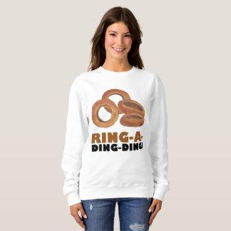 Ring-a-Ding-Ding Bride Engagement Bachelorette Sweatshirt