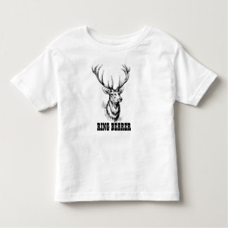Ring Bearer Buck Toddler T-Shirt