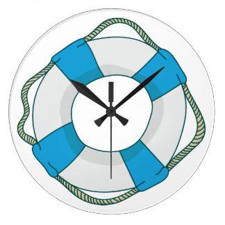 Ring Buoy Large Clock