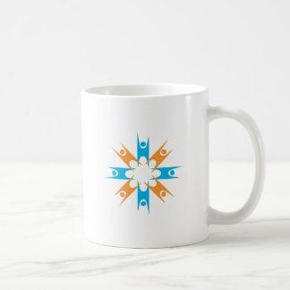 Ring of Happy Humanists Basic White Mug