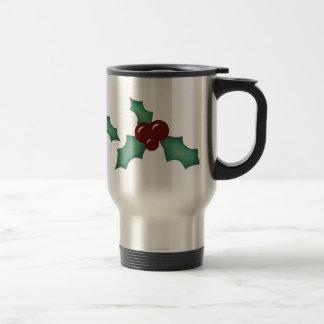 Ring of Holly Travel Mug