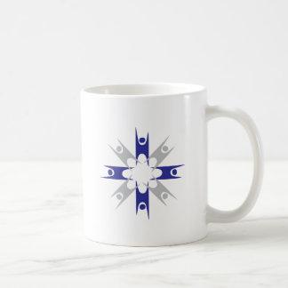 Ring of Humanists Basic White Mug