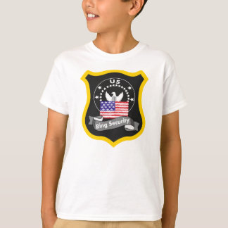 RING SECURITY T SHIRT,RING BEARER T-Shirt