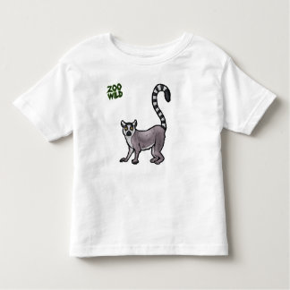 Ring Tailed Lemur Toddler T-Shirt