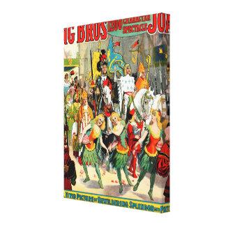 Ringling Bros: Joan of Arc Canvas Print