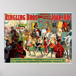 Ringling Bros: Joan of Arc Poster