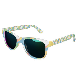 Rio Colors Frost, Ocean Mirror Sunglasses