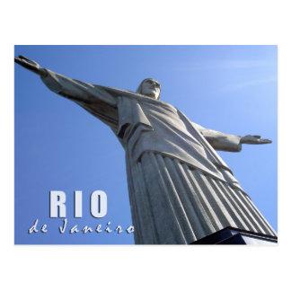 Rio de Janeiro - Christ The Redeemer Postcard