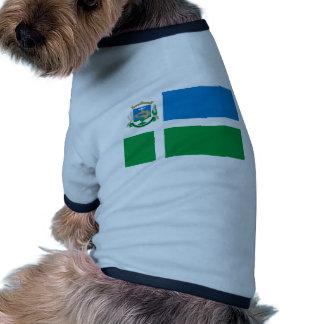 W Dog Brasil Brazil flag Dog Clothes