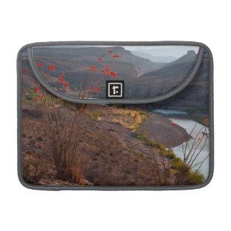 Rio Grande Running Through Chihuahuan Desert Sleeve For MacBook Pro