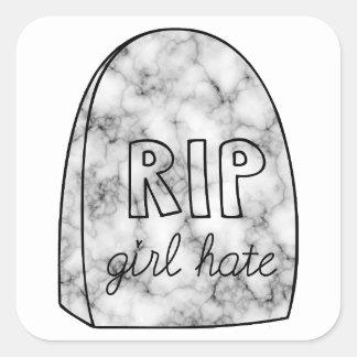 RIP Girl Hate Sticker