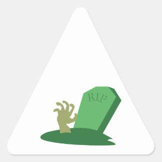 RIP Grave Triangle Sticker