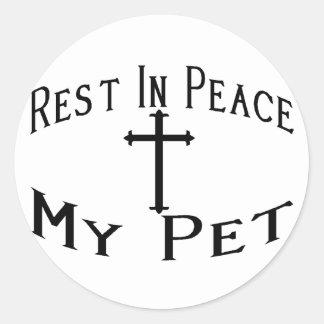 RIP My Pet Stickers