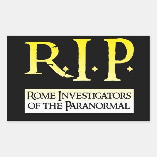RIP - Rectangular Sticker