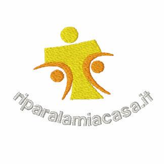 Riparalamiacasa Logo piccolo Embroidered Shirt