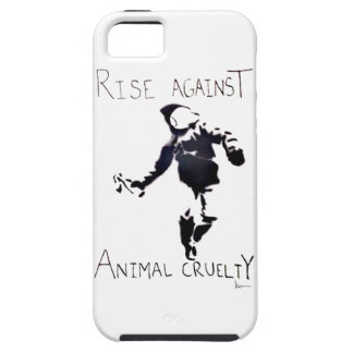 """""""RISE AGAINST ANIMAL CRUELTY"""" iPhone 5 COVER"""