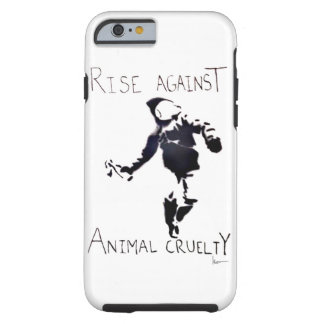 """RISE AGAINST ANIMAL CRUELTY"" iPhone 6 CASE"