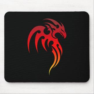 Rising Phoenix Tribal Symbol Mouse Pad