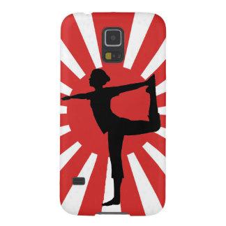 Rising Sun Yoga 1 Dancer Case For Galaxy S5
