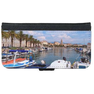 Riva waterfront, Split, Croatia iPhone 6 Wallet Case