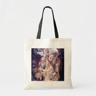 Rivendell Character Collage Tote Bag