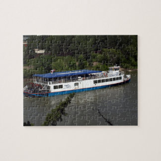 River Boat Jigsaw Puzzle