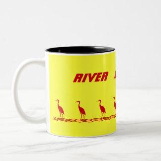 RIVER CLUB CYCLING Two-Tone MUG