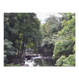 River Llugwy at Betws-y-Coed, Wales Print Photo Art
