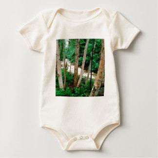 River Paper Birch White New Hampshire Baby Bodysuit