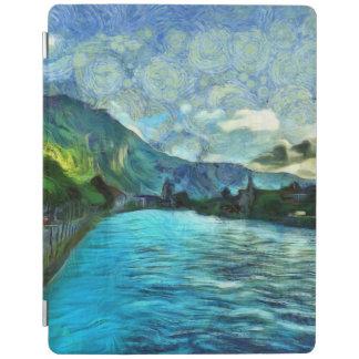 River running through Interlaken iPad Cover