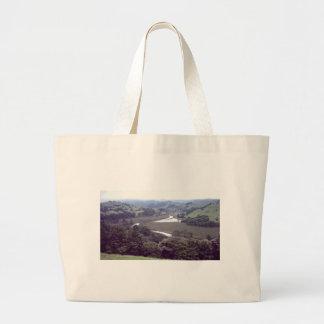 river running through.jpg large tote bag