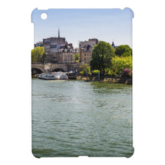 River Seine Ile De La Cite in Paris Photograph iPad Mini Covers