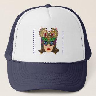 Riverboat Casino Queen Please View Artist Comments Trucker Hat