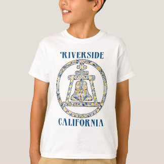 Riverside, California Raincross T-Shirt