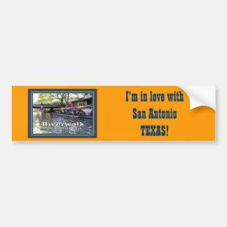 Riverwalk, San Antonio, TEXAS Bumper Stickers