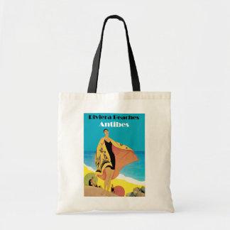 Riviera Beaches ~ Antibes Budget Tote Bag