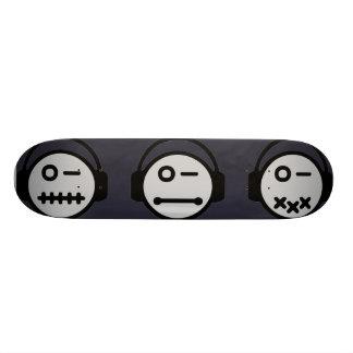 Riyah-Li Designs Emo Music 21.3 Cm Mini Skateboard Deck