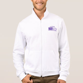 RLF Logo Men's Am Apparel Cali Fleece Zip Jogger Jacket