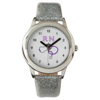 RN Nurses Stethoscope Watch