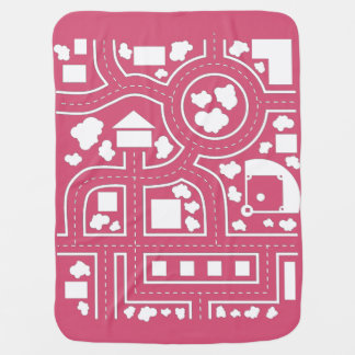 Road Blanket - Pink