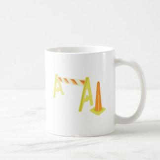 Road Caution Coffee Mugs