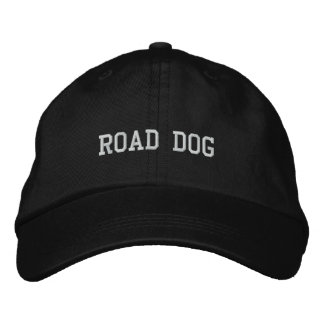 ROAD DOG EMBROIDERED HAT