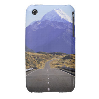 Road into Mount Cook National Park, New Zealand iPhone 3 Case