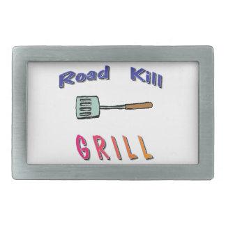 Road Kill Grill Belt Buckle