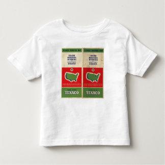Road map Idaho, Mont, Wyo Toddler T-Shirt