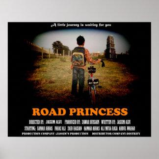 Road Princess Poster