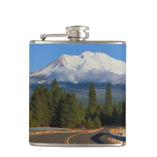 ROAD TO SHASTA HIP FLASK