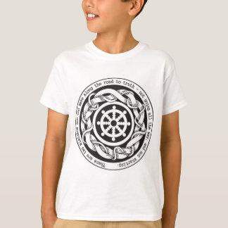 Road to Truth Dharma Wheel T-Shirt